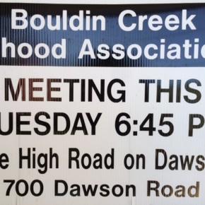 BCNA Meeting Agenda for 10/13/2015