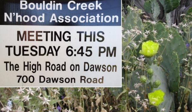 BCNA Meeting @ The High Road 700 Dawson
